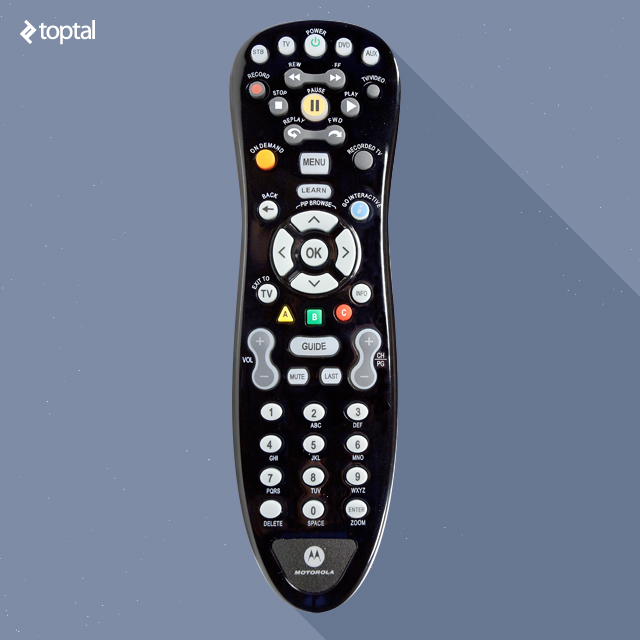 Old remote controls are another example of hit and miss UX. There is little in the way of standardization, so each one takes time getting used to.