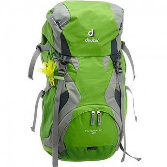 Image result for why do deuter backpacks have the flower attached