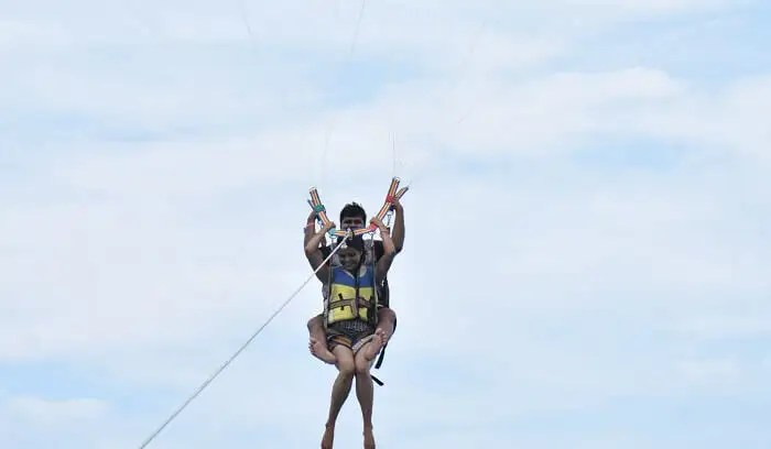 sensational parasailing activities