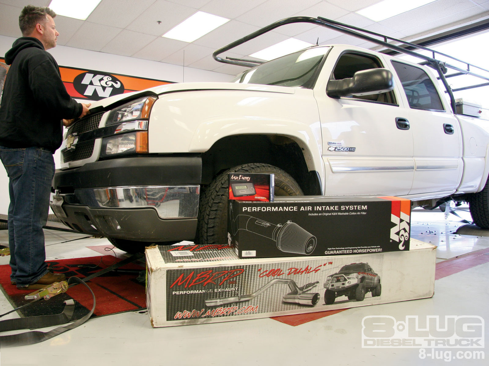 diesel truck exhaust intake programmer 2004 chevy duramax 8 lug magazine