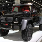 Brabus B63 S Because The Mercedes Benz G63 Amg 6x6 Wasn T Insane Enough Truck Trend