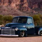 1950 Chevy 3100 Airbagged Ls Swap