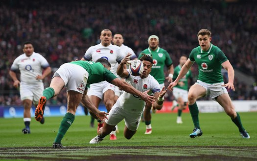 England vs Ireland in the Guinness Six Nations 2020