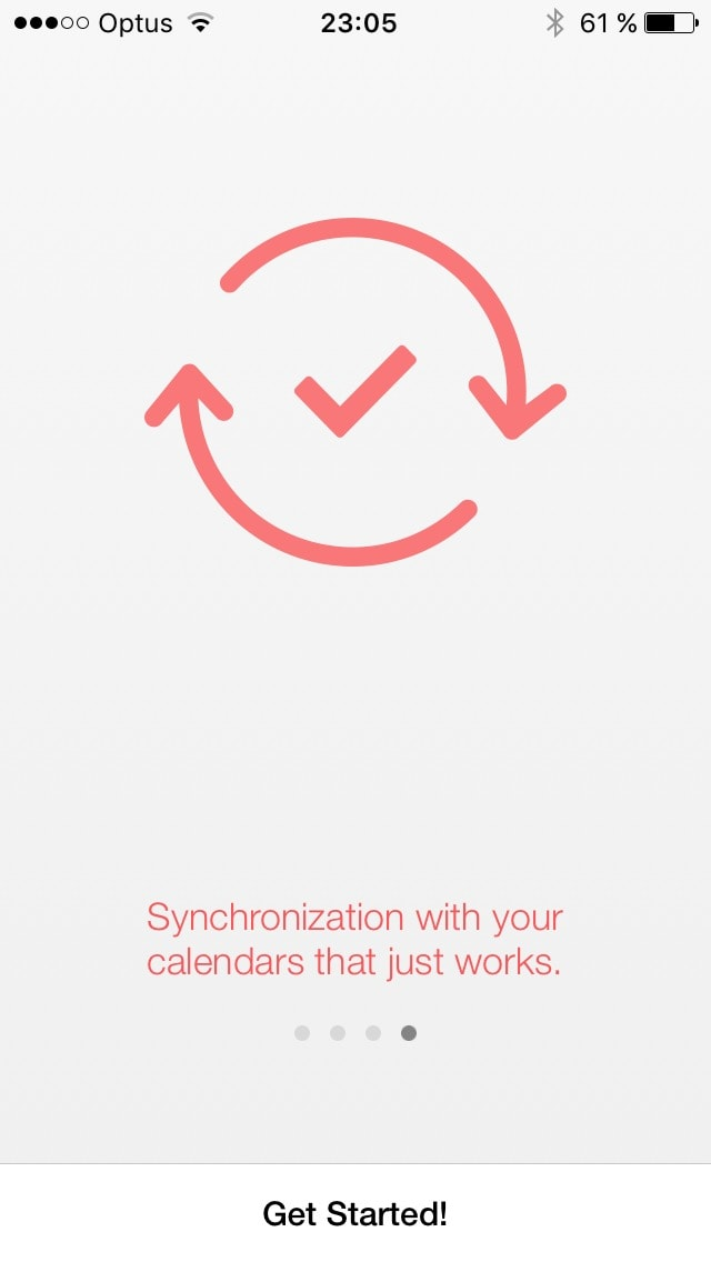 Onboarding on iOS by Sunrise from UIGarage