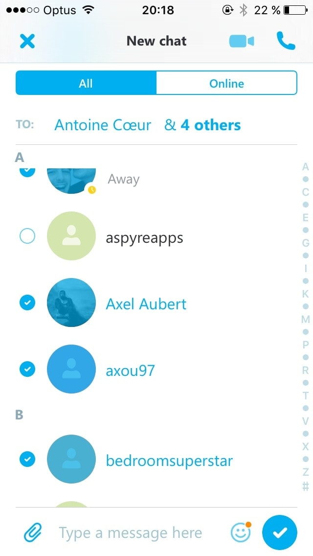 Checkbox on iOS by Skype from UIGarage