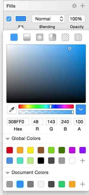 Color Picker by Sketchapp from UIGarage