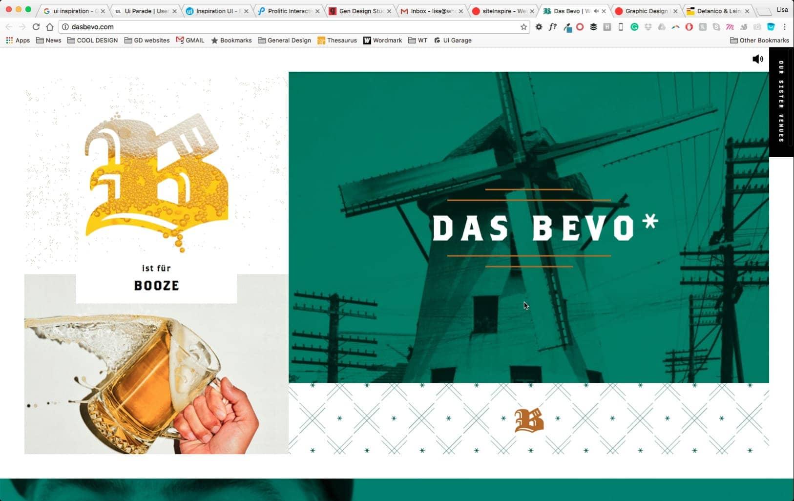Web Design by Das Bevo from UIGarage