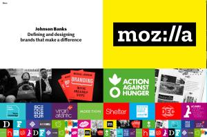 JohnsonBanks Homepage from UIGarage