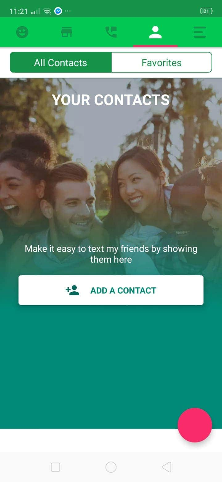 Contacts on Android by Text Plus from UIGarage