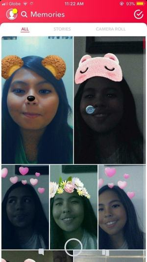 Memories on iOS by Snapchat 2019 from UIGarage