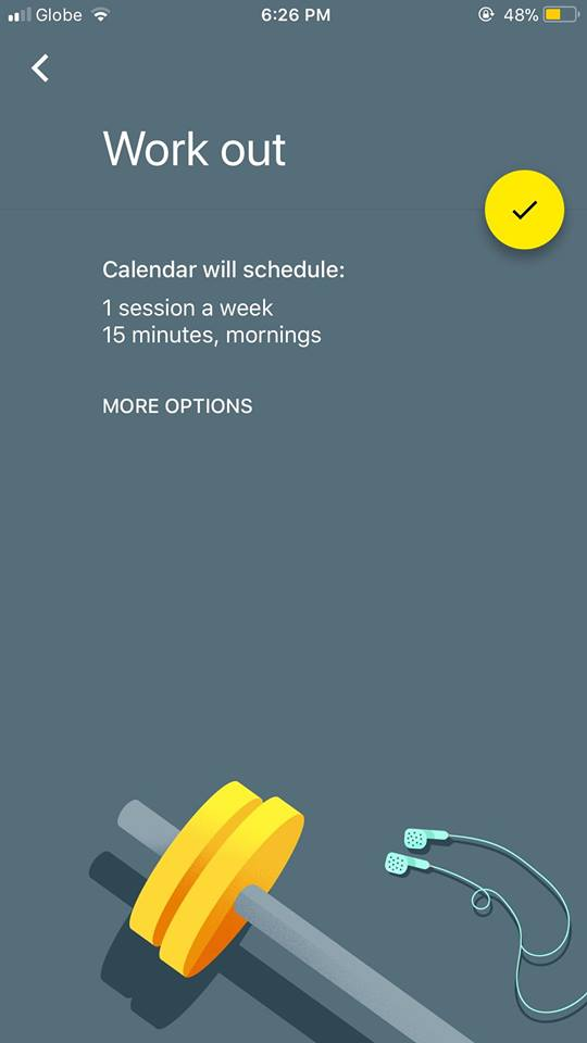 Onboarding on iOS by Google Calendar from UIGarage