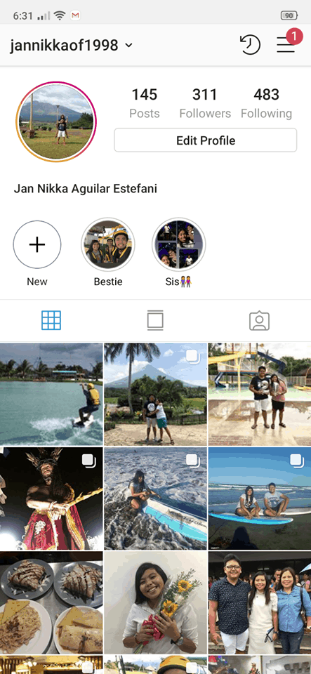 Profile on Android by Instagram from UIGarage
