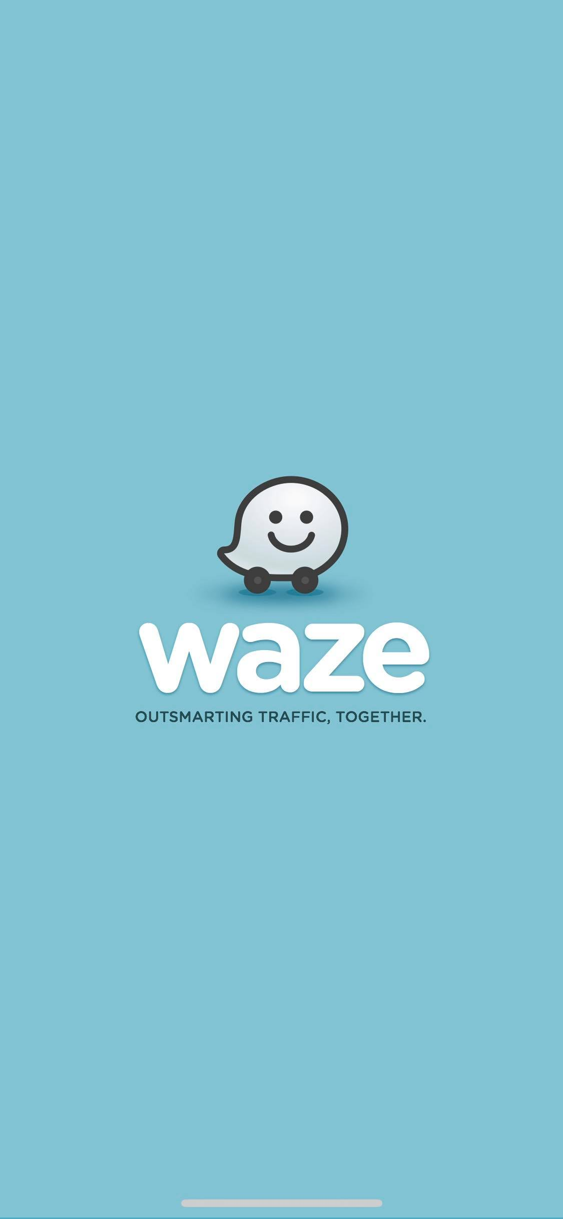 Launch Screen on iOS by Waze from UIGarage