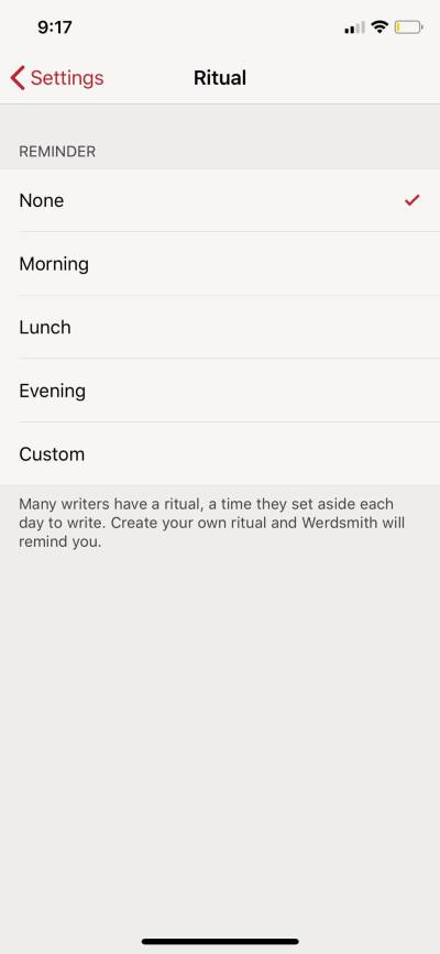 Ritual on iOS by Handle from UIGarage