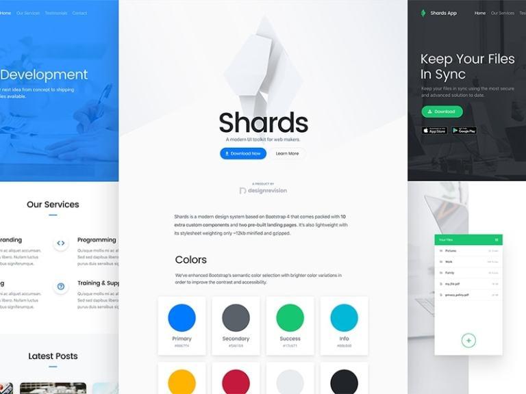 Shards UI Kit from UIGarage