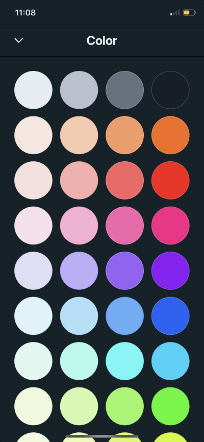 Color Picker on iOS by Vantage from UIGarage