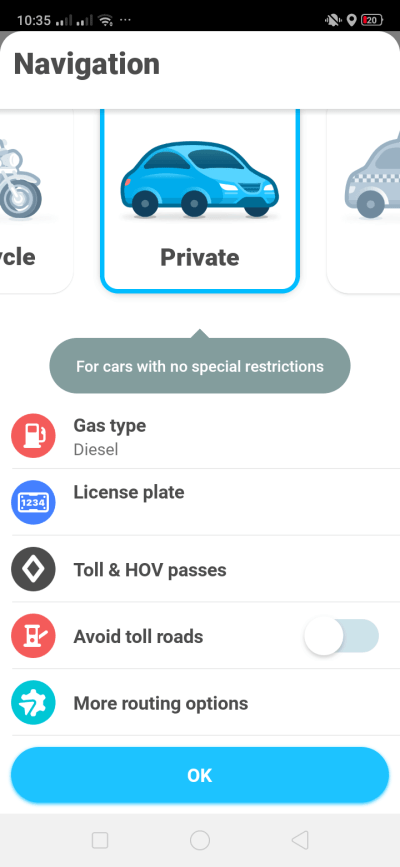 Navigation on Android by Waze from UIGarage