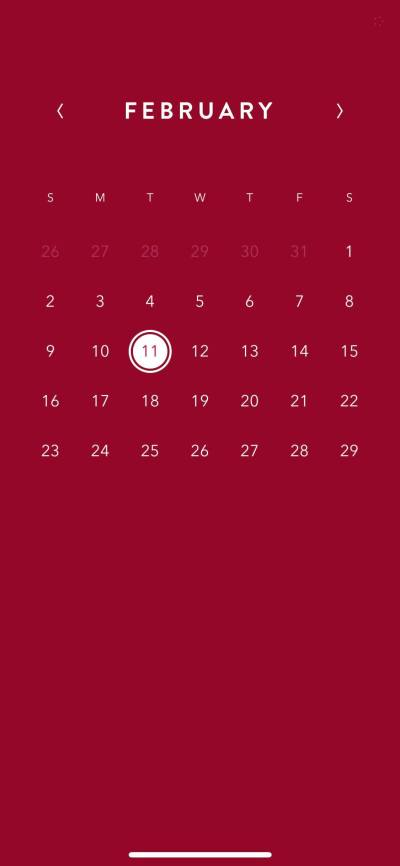 Calendar on iOS by Time Page from UIGarage