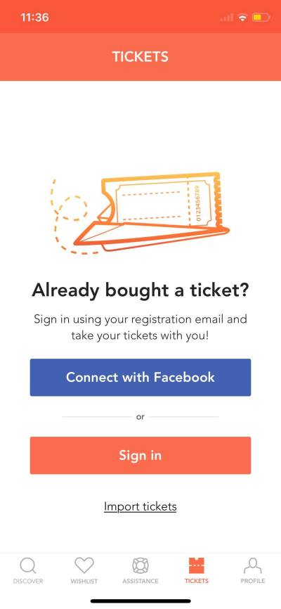 Tickets on iOS by Musement from UIGarage