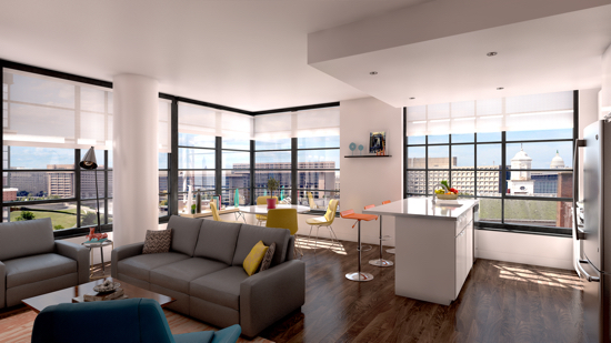 Sleek, Sophisticated Apartments @ Wharf