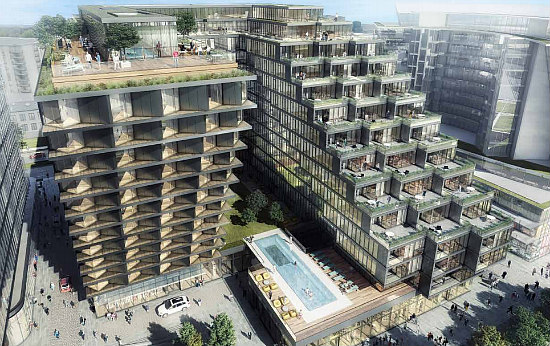 The 1078 Residential Units Planned For The Wharf