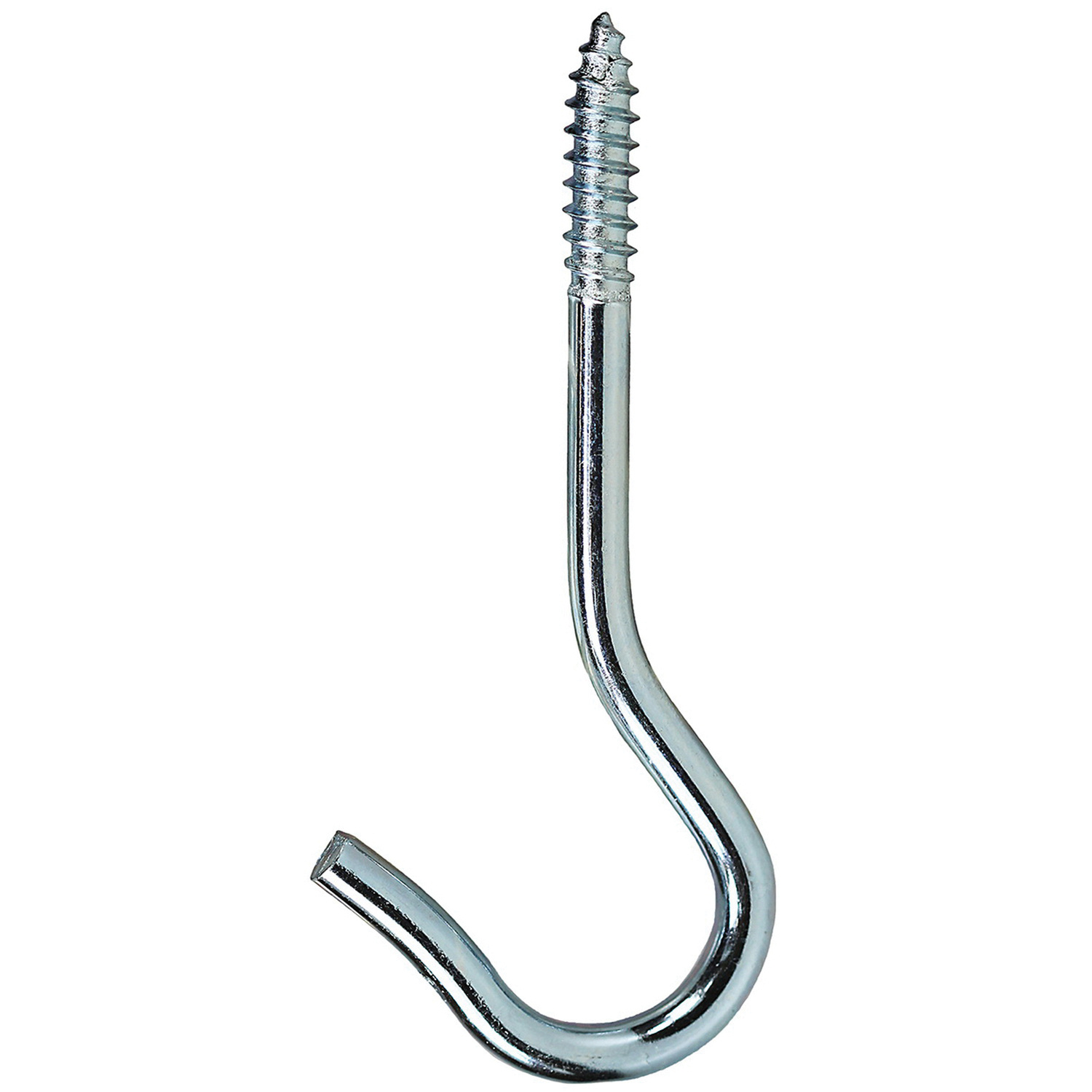 Dottie Sh60 Round Bend Screw Hook 7 8 Inch 3 3 8 Inch Zinc