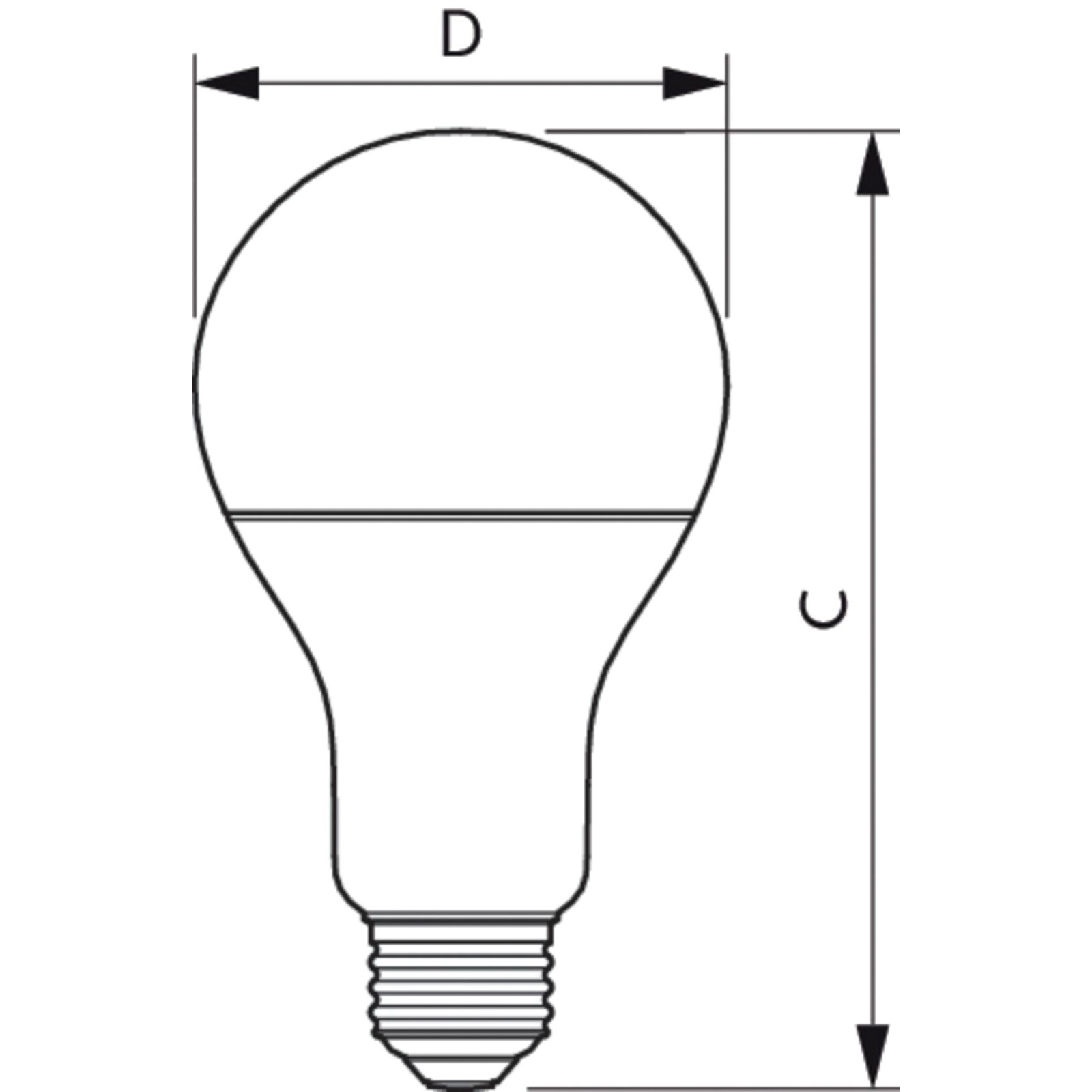 Philips Lighting Dimmable A21 Led Lamp E26 Single