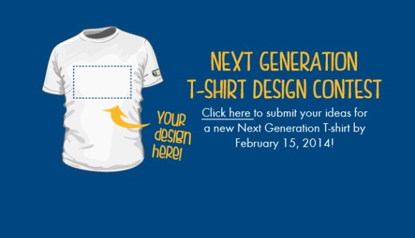Next Generation T-shirt Design Contest 2014