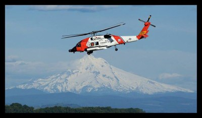 MH-60T from Coast Guard Air Station Astoria