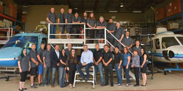 Built over a 12-year period starting with two staff, CanWest Aerospace now proudly boasts of a well-trained and experienced staff of 30 across various functional areas.