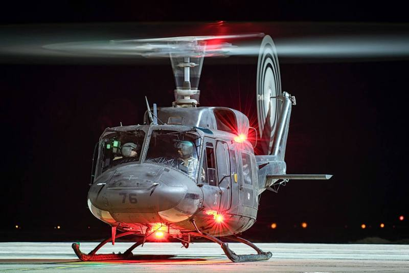 Night sorties were included in Exercise Famara, providing crews with valuable experience in flying tactically with night vision goggles.