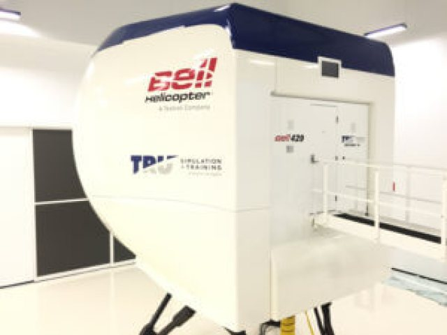 Bell Helicopter and TRU Simulation + Training Inc. have achieved EASA certification of the new training facility in Valencia, Spain, and for the Bell 429 full-flight simulator. TRU Photo