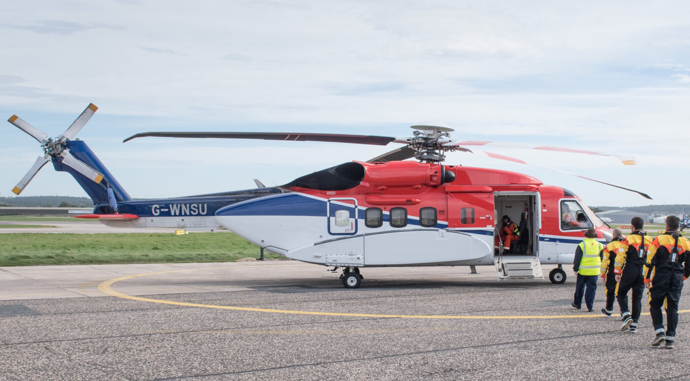 A Dec. 28 incident involving a CHC-operated S-92 has led to new inspection requirements for the global fleet. CHC Photo