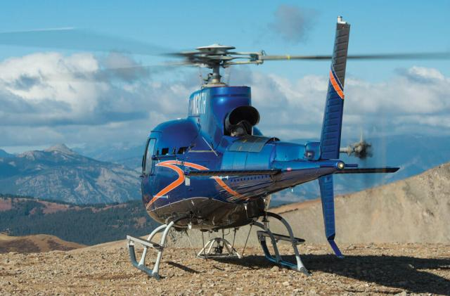 Unlike BLR's FastFin kits for Bell medium helicopters, the H125 kit does not alter the vertical stabilizer.