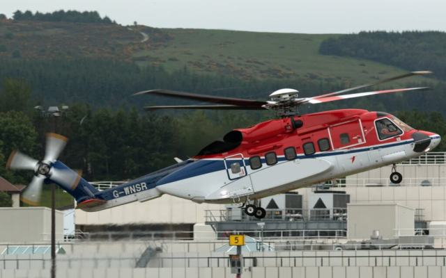 New details have emerged in a Dec. 28 loss of control incident involving this CHC-operated Sikorsky S-92, G-WNSR, in the North Sea. Graham Howarth Photo