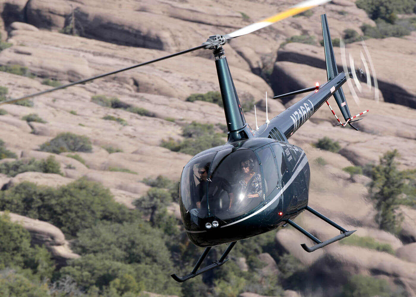The Donaldson IBF for the Robinson R66 Turbine is available as an option in new aircraft or as a kit for retrofit, and replaces an existing Robinson filter. Donaldson Photo