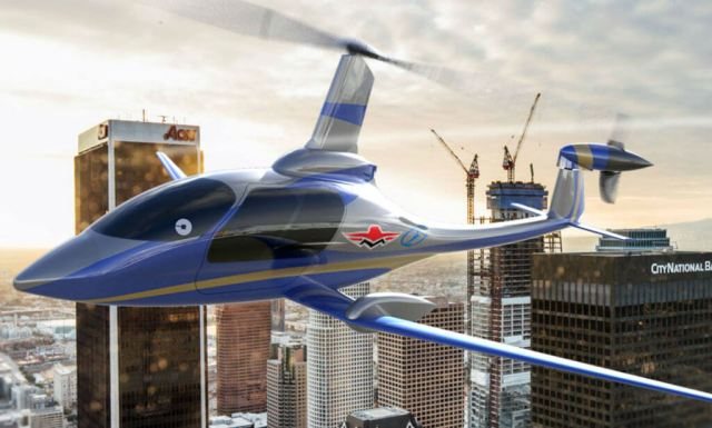 Carter Aviation Technologies is teaming with Mooney to develop an e-VTOL based on Carter's Slowed Rotor Compound technology. Carter Aviation Image