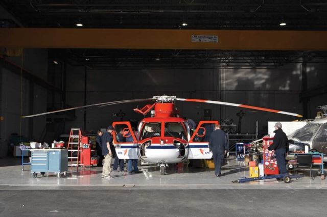Heli-One -- CHC's maintenance, repair, and overhaul business -- provides 17 percent of its parent company's revenue. Heli-One Photo