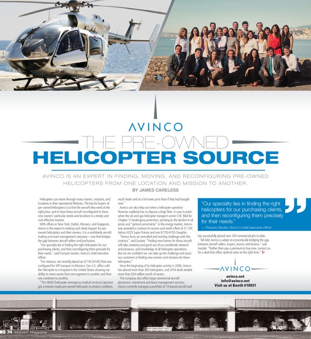 Avinco Insight profile