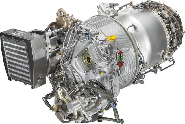 The engine was designed for ease of maintenance, reading across knowledge acquired from the company's PT6 heritage and PW200 experience.