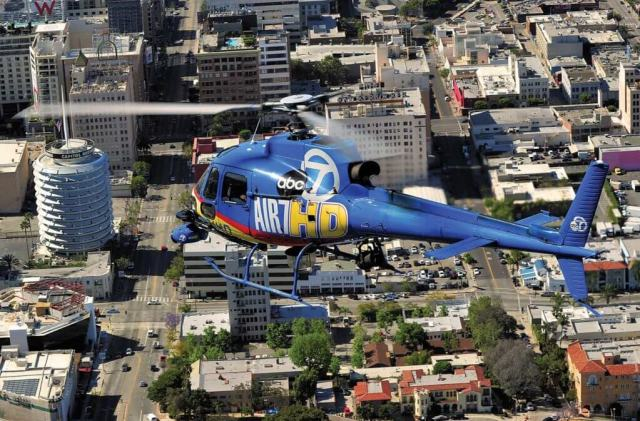 Air 7 HD comes upon the world famous Capitol Records building.