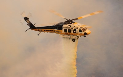 The L.A. County Fire Department currently operates three Sikorsky S-70A Firehawks, which will be supplemented by two brand new S-70i helicopters in December 2017. Skip Robinson Photo