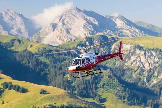 Swiss Helicopter has a fleet of 31 aircraft, and about half of them are H125/AS350 AStars, with the aircraft's versatility making it a good fit for the utility operator's range of work. Photos courtesy of Swiss Helicopter
