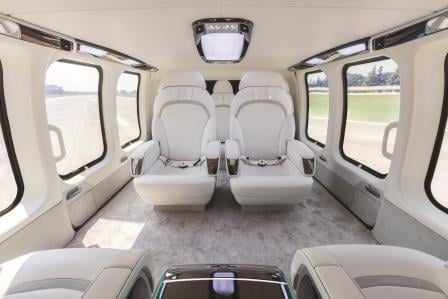 The MAG Design Studio won the award in the category of Ships, Trains and Planes for the luxury helicopter interior designed for the Bell 525. The new interior for the Bell 525 brings an ambiance of a luxurious limousine to the aircraft and passengers. MAG Photo