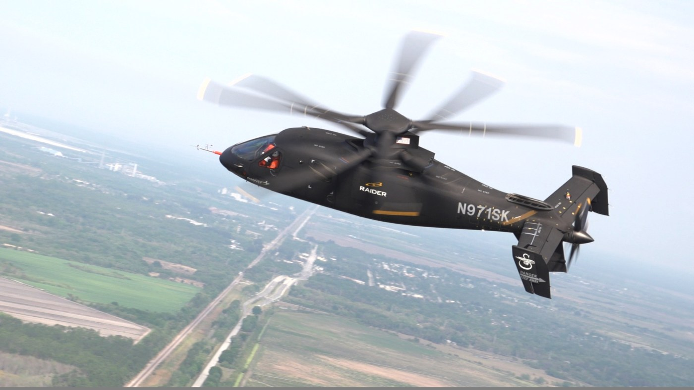 Sikorsky was in the process of expanding the S-97 Raider's flight envelope at the time of the incident on Aug. 2. Sikorsky Photo