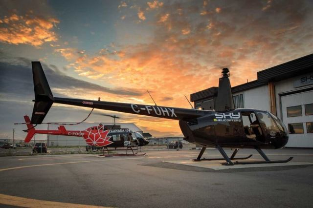 In addition to the LongRanger, Sky has three Robinson R44s and two Bell 206B-3 JetRangers. Heath Moffatt Photo