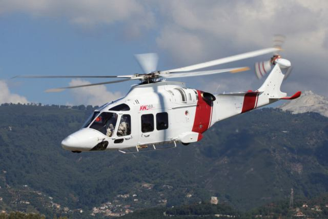 In addition to EMS operations, the AW169 will support Travis County's search-and-rescue, law enforcement support and fire suppression efforts in the area surrounding Austin, Texas. Leonardo Photo