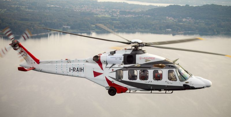 The Aneto-1K, which will power the Leonardo AW189K, is the first member in Safran's new 2,500- to 3,000-shp family of turboshafts. Leonardo Helicopters Photo