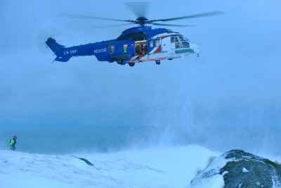 The H225 is offsetting a lack of orders for offshore transport with success in other areas, such as search-and-rescue. Airbus Photo