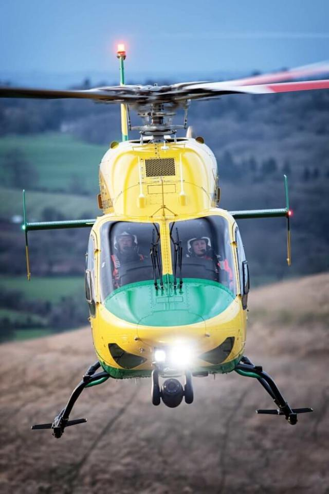 The Bell 429 has been a noteworthy success for Bell in Europe, proving popular with emergency medical services (EMS) operators across the continent. Lloyd Horgan Photo